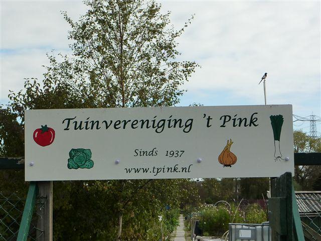 Welkom bij Tuinvereniging 't Pink