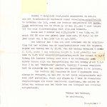 2-1957 Correspondentie vanuit het bestuur